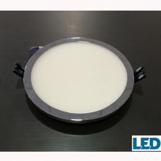 Downlight  22W Redondo Cromo LED