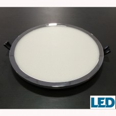 Downlight  30W Redondo Cromo LED